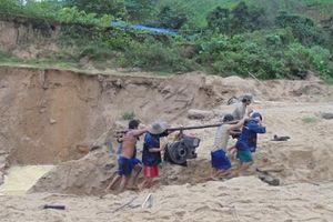 Xử lý nghiêm việc phá rừng khai thác vàng trái phép ở Quảng Nam