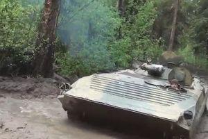 Xem xe BMP-1 Việt Nam có dùng vượt địa hình lầy lội