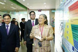 Công chúa Thái Lan thăm nhà máy Unilever Việt Nam tại Củ Chi