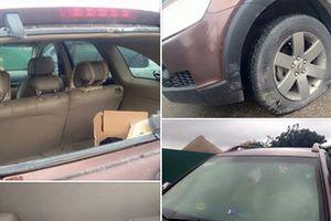 Dân mạng xôn xao clip 6 thanh niên hành hung tài xế