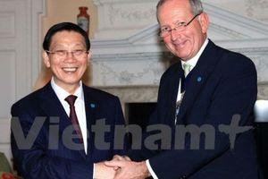 London sẽ giúp Hà Nội quy hoạch và xây dựng trung tâm tài chính