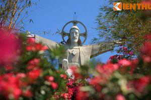 Cận cảnh tượng Chúa Jesus khổng lồ nhất châu Á của VN