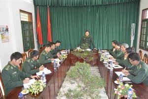 Kiểm tra công tác Đảng, công tác chính trị tại BĐBP Lai Châu