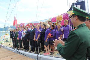 Đội thuyền đua Derry - Londonderry – Doire cập bến Đà Nẵng