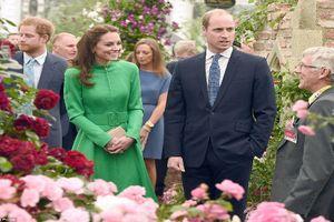 Chùm ảnh Công nương Middleton rạng ngời tại triển lãm hoa Chelsea