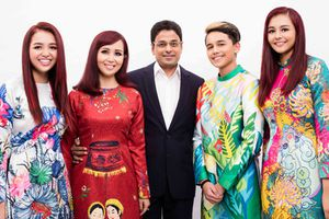 Loạt ảnh gia đình của hoa hậu hạnh phúc nhất Việt Nam