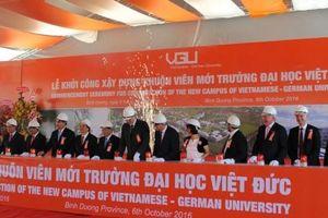 Khởi công xây dựng khuôn viên mới Trường đại học Việt Đức