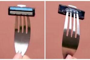 Cách 'chữa cháy' khi dao cạo râu bị gãy cán cầm tay