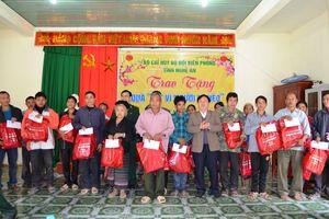 BĐBP Nghệ An ủng hộ 150 triệu cho chương trình 'Tết vì người nghèo'