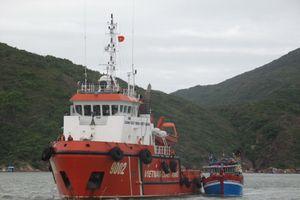 BĐBP Bình Định: Tiếp nhận tàu cá cùng 10 ngư dân gặp nạn trên biển