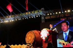 Khai mạc lễ hội đền Trần Thái Bình năm 2016