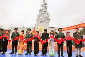 Khánh thành công trình Khu tưởng niệm Anh hùng liệt sĩ Trần Văn Thọ