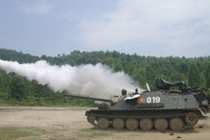 Pháo tự hành 'bay' ASU-85 Việt Nam bất ngờ xuất hiện