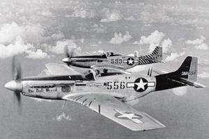 Ảnh hiếm tiêm kích P-51 Mustang huyền thoại Không quân Mỹ