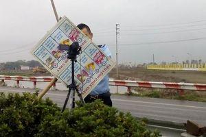 Cao tốc Pháp Vân - Cầu Giẽ: Cienco1 bị ngăn cản đặt camera đếm số lượng xe