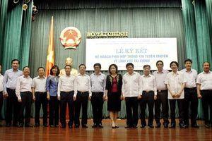 Bộ Tài chính ký kết phối hợp thông tin, tuyên truyền với 5 cơ quan báo chí