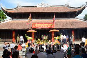 Lễ giỗ lần thứ 224 Hoàng đế Quang Trung