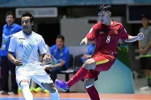 Futsal Việt Nam giành chiến thắng lịch sử ở VCK World Cup