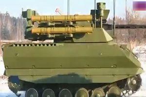 Chiêm ngưỡng uy lực của 'siêu tăng' không người lái Nga