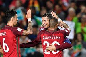 Ronaldo lập cú đúp, Bồ Đào Nha diệt gọn Latvia