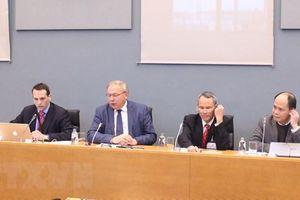 Nghị viện vùng Wallonie thảo luận về FTA giữa Việt Nam và EU