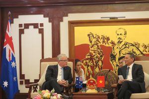 Việt Nam - Australia tăng cường hợp tác GTVT