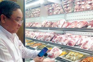 Truy xuất nguồn gốc thịt heo qua điện thoại: Vẫn lo ngại chất lượng