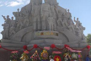 Khánh thành Khu di tích nơi hơn 1.000 anh hùng hy sinh