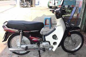 Honda Dream Việt chạy 1500km giá trăm triệu tại Sài Gòn