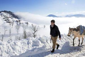 Cảnh mùa đông tuyết trắng đẹp ngỡ ngàng ở Iran