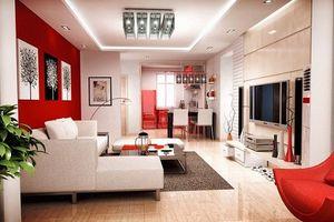 10 mẫu trang trí phòng khách cực hợp cho ngày Tết
