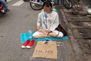Nghi vấn quanh chuyện cô gái Thanh Hóa ăn xin ở Đồng Nai