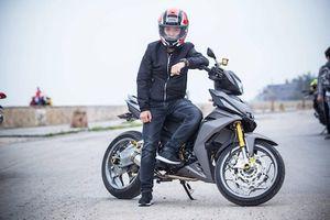 Honda Winner độ 'chân' siêu môtô BMW tại Hải Phòng