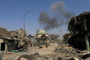 Cận cảnh nhà thờ Hồi giáo al-Nuri tan hoang sau giải phóng