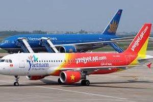 Giá vé máy bay đồng loạt tăng từ 1/10