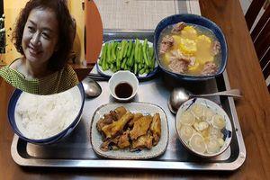 Mẹ chồng 'quốc dân' nấu cơm cho con dâu ngon tuyệt đỉnh