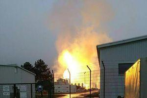 Nổ tại trung tâm khí đốt ở Áo