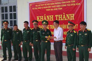 Bàn giao công trình dân vận trên địa bàn tỉnh Kon Tum