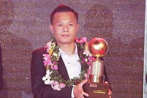 Phạm Thành Lương lần thứ tư giành Quả bóng vàng Việt Nam