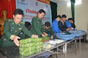 BĐBP Nam Định: 'Ngày hội bánh chưng xanh - Ấm lòng dân biên cương, hải đảo'