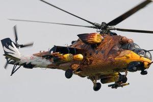 Màu sơn trang trí đặc biệt của trực thăng quân sự
