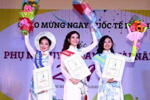 Nữ MC Báo Thanh Niên đăng quang hoa khôi 'Duyên dáng - Tài năng 2017'