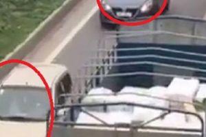 Phạt nặng 3 lái xe 'rồng rắn' chạy ngược chiều trên cao tốc
