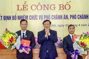 Điều động, bổ nhiệm nhân sự TANDTC, NHNN, Hà Giang, Bắc Ninh