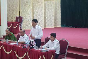 Chủ tịch Hà Nội Nguyễn Đức Chung kêu gọi bà con Đồng Tâm thả người