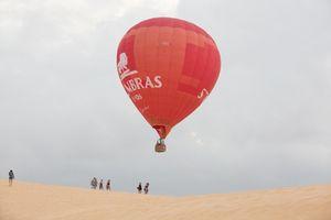 Lần đầu tiên ở Việt Nam có du lịch trên không bằng khinh khí cầu