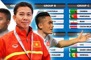 FIFA World Cup 2017: U20 Việt Nam ra biển lớn