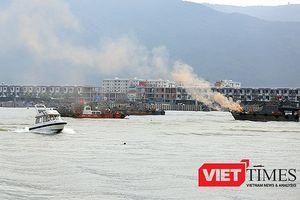 Hải quân Việt-Mỹ diễn tập trên sông Hàn