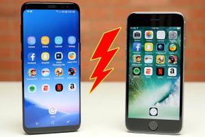 Galaxy S8 bị chê tốc độ yếu hơn cả iPhone 6S