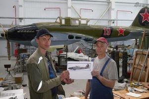 'Thiên thần bầu trời' Il-2 Liên Xô được phục dựng lại